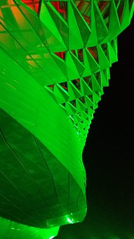 China, Exhibition Centre, Architecture, Building