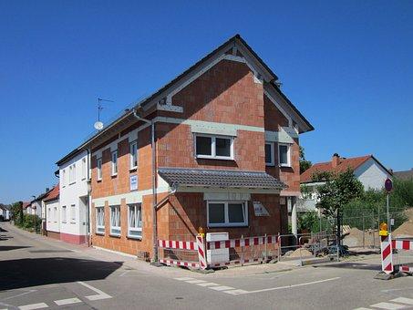 Ludwigstr, Hockenheim, House, Facade, Construction Site