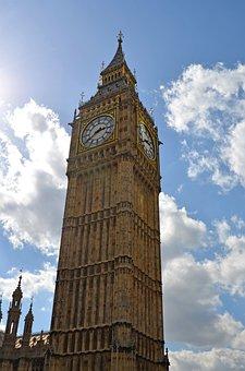 London, Big Ben, Westminster, United Kingdom, Landmark