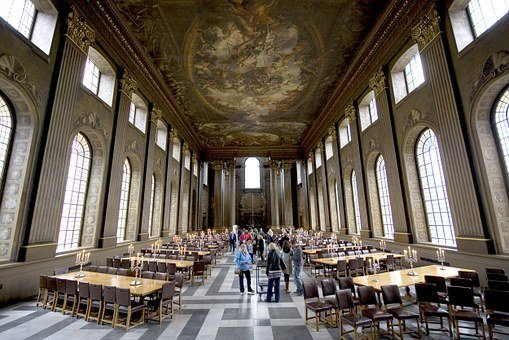 Royal Naval College, London, England, Great Britain