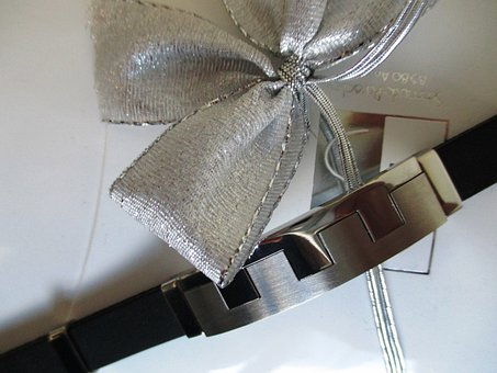 Jewellery, Bracelet, Men's, Leather, Chrome Steel