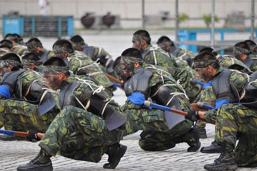 Soldier, Army, Ciqiang Surgery, Performance, Camouflage