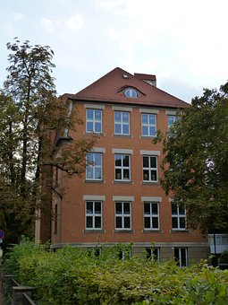House, Schoolhouse, Monument, Building