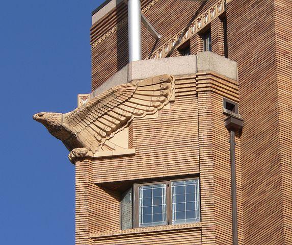 Sioux City, Iowa, Building, Structure, Sculpture, Eagle