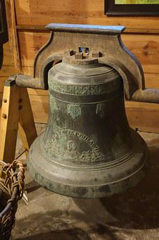 Bell, Old, Historic, Museum, Cast, Iron, Sound