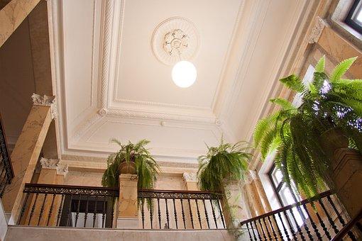 Museum Rietberg, Villa Wesendonck, Staircase