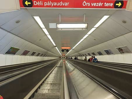Metro, Budapest, Stairlifts