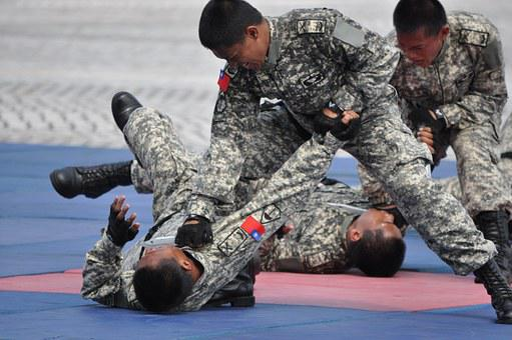 Soldier, Rally, Combat Skills, Taiwan