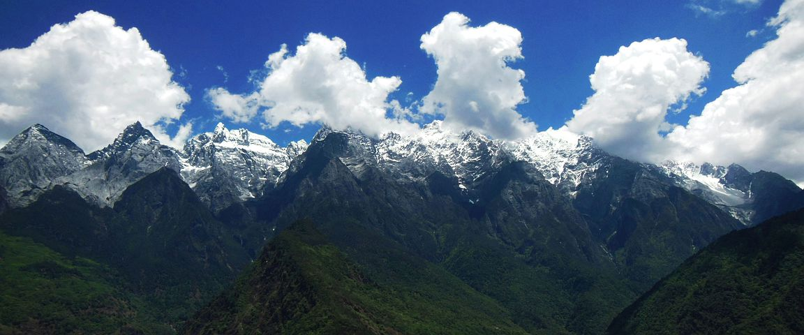 China, Tiger Leaping Gorge, Mountains, Landscape