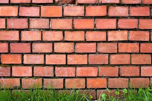 Brick, Wall, Red, Brick Wall, Break, Brick Texture
