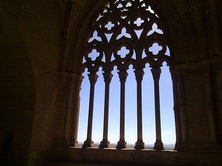 Arc, Gothic, Lleida, Cathedral, Seu Vella, Romanesque