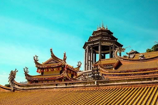 Buildings, Asian, Palace, Temple, Chinese