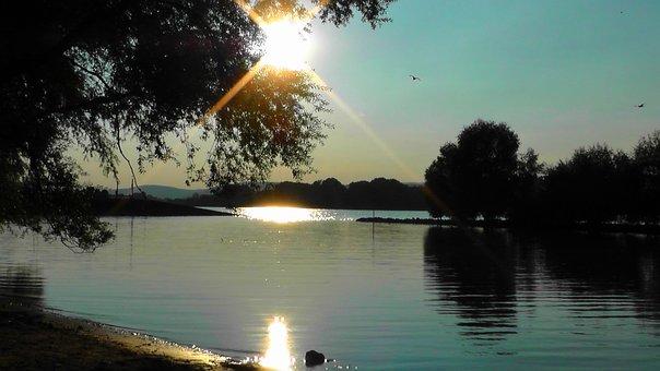 Evening, Sky, Romantic, Mood, Atmosphere, Sunset