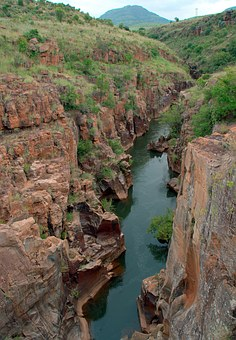 South Africa, Mountain, Drakensberg, Blyde River