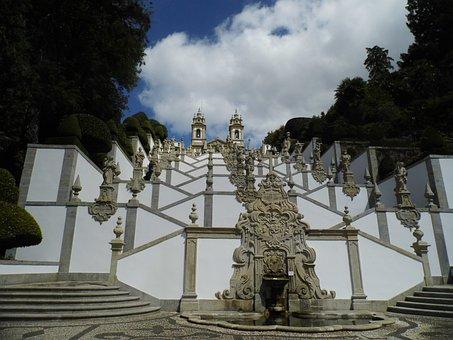 Braga, Bom Jesus, Portugal, Sanctuary