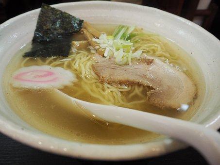 Ramen, Char Siu, Chinese Noodles, Noodles, Bowl