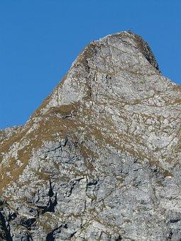 Höfats, Summit, East Summit, Summit Cross, Mountains