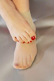 Woman, Skin, Foot, Feet, Stocking, Socks, Nails