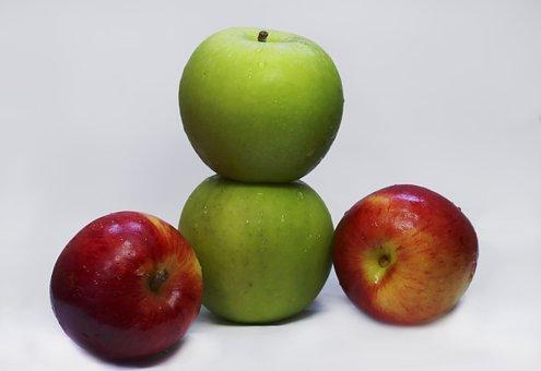 Apples, Fruit, Food, Healthy, Organic, Fresh, Natural