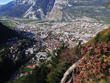 Chur, Graubünden, Switzerland, Capital, Landscape