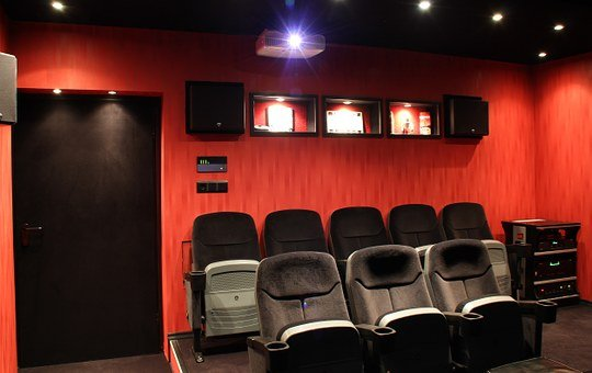 Home Theater, Film, Cinema Chair, Projector, Filmpalast