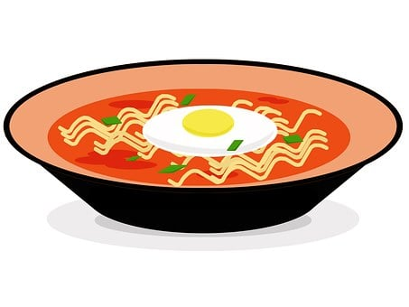 Food, If The, Spicy, Meat Noodle, Cold Ramen, If, Hot