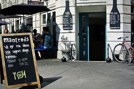 Restaurant, Copenhagen, Manfreds, Café