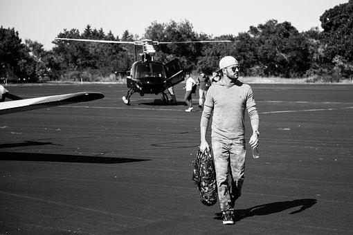 Helicopter, Airport, Hamptons, New York, Vip, Runway