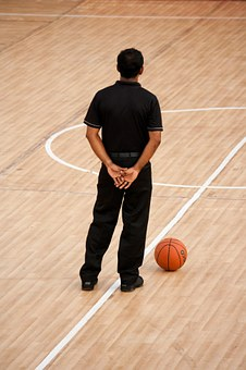 Basketball, Sports, Game, Official