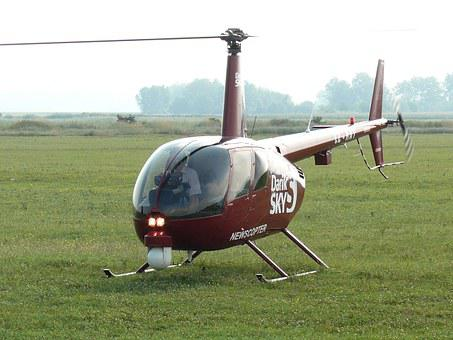 Helicopter, R44 Raven, Private Helicopter