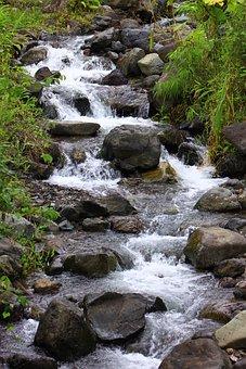 Water, San Antonio Chamí, Ravine, Colombia