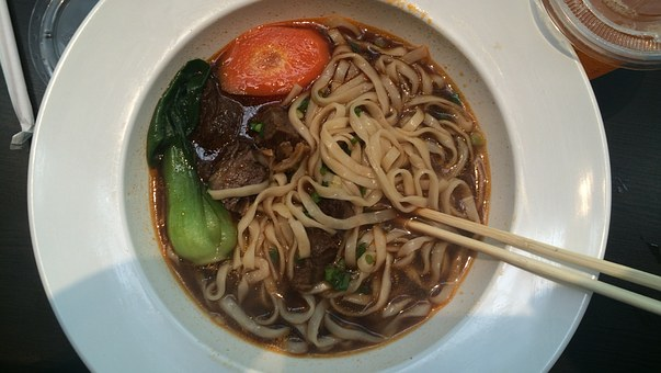 Noodles, Beef Bath Surface, Right Yuktang