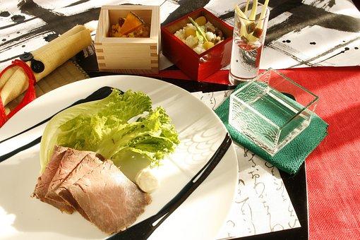 Roast Beef, Fall Of Cuisine, Rise Wine