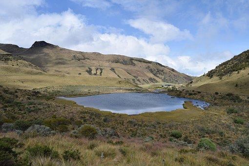 Nevado, Laguna, Manizales, Caldas, Colombia, Ruiz