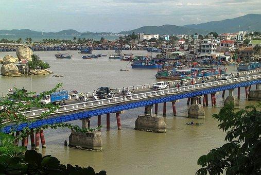 Nha Trang, Vietnam, Bay, Harbor, Water, Boats, Ships
