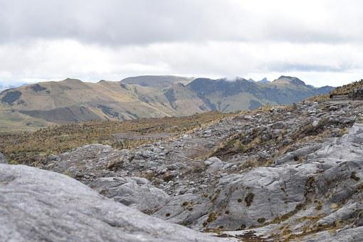 Mountains, Nevado, Rocks, Stones, Landscape, Trail