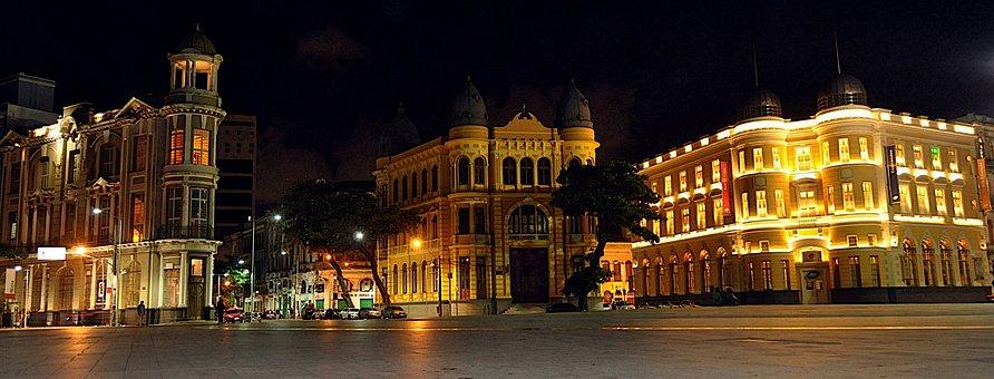 Recife, Pernambuco, Marco, Zero