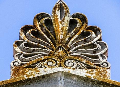 Ridge Tile, Decoration, Neoclassic, Architecture