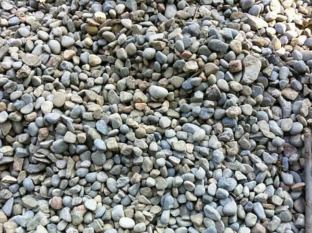 Pebbles, Background, Tiny, Grey