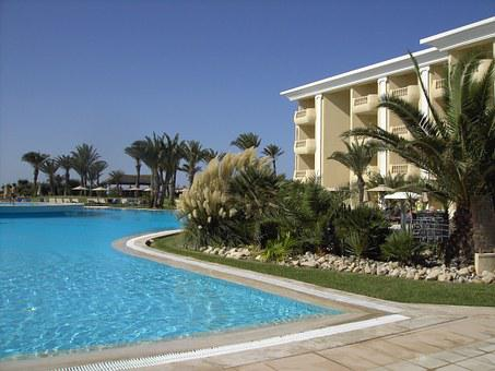 Hotel, Holiday, Pool, Water Tunisia, Recovery, Building