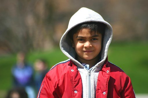 Boy, Child, Young, Cute, Smiling, East Indian, Indian