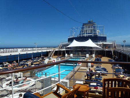 Cruise Ship, Deck Of Ship, Ship, Cruise, Luxury