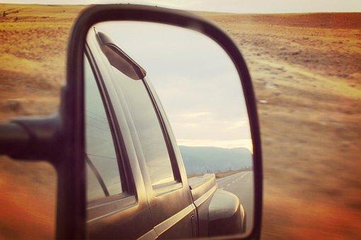 Reflection, Roadtrip, Desert, Travel, Road, Trip