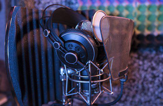 Audio, Close-up, Condenser Microphone, Equipments