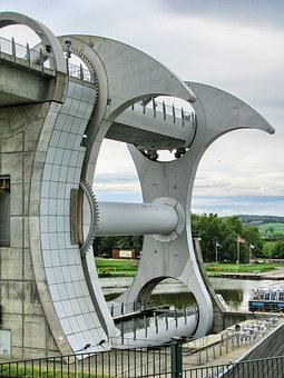 Falkirk Wheel, Lift Swivel, Technical Construction
