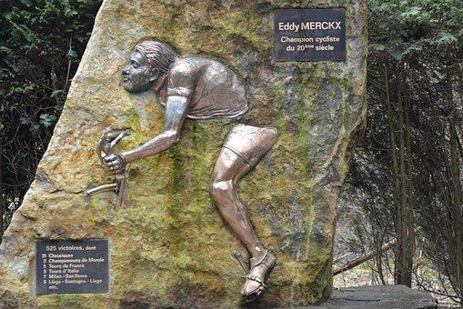 Eddy Merckx, Memorial, Monument, Stavelot, Cycling