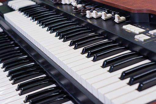 Organ, Electronic Organ, Musical Instrument, Music