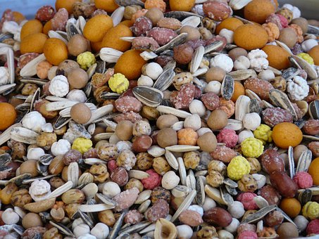 Cores, Core Mix, Nuts, Nut Mix, Sunflower Seeds, Snack