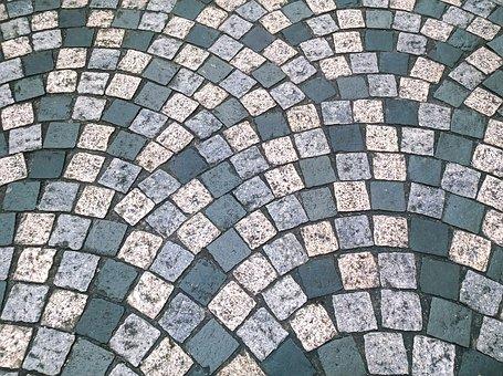Cobbles, Floor, Pattern, Road, Rough, Paving, Pavement