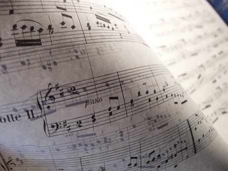Music, Classical, Sheet Music, Piano, Piano Score